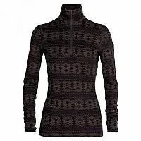 [해외]아이스브레이커 250 Vertex Crystalline Long Sleeve T-Shirt 1138214818 Black / Mink
