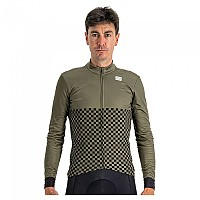 [해외]스포츠풀 Checkmate Thermal Long Sleeve Jersey 1138205705 Beetle Black