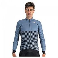 [해외]스포츠풀 Checkmate Thermal Long Sleeve Jersey 1138205706 Blue Sea Black