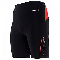 [해외]JOLUVI Profit Short Tight 4137602843 Black / Red