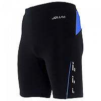 [해외]JOLUVI Profit Short Tight 4137602844 Black / Royal Blue