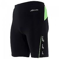 [해외]JOLUVI Profit Short Tight 4137602845 Black / Neon Green