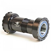 [해외]WHEELS MANUFACTURING 386EVO Angular Contact BB for 22/24 mm Bottom Bracket Cup 1137545576 Black