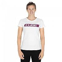 [해외]CUBE Logo Short Sleeve T-Shirt 1138325077 White / Red