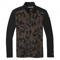 [해외]스마트울 Merino 250 Pattern Long Sleeve T-Shirt 1138211870 Military Olive Camo / Black