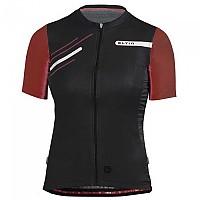 [해외]ELTIN Glorious Short Sleeve Jersey 1138248017 Black / Garnet