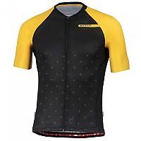 [해외]ELTIN Resistance Short Sleeve Jersey 1138248022 Black / Mustard