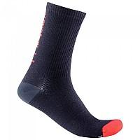 [해외]카스텔리 Bandito 18 Socks 1138291503 Savile Blue / Red