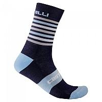 [해외]카스텔리 Gregge 15 Socks 1138291574 Savile Blue / Dusk Blue