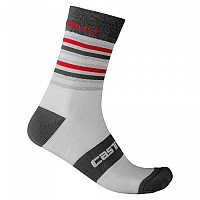 [해외]카스텔리 Gregge 15 Socks 1138291575 Silver / Dark Grey