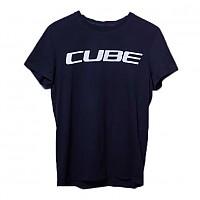 [해외]CUBE Logo Short Sleeve T-Shirt 1138325074 Black / White