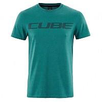 [해외]CUBE Logo Short Sleeve T-Shirt 1138325075 Green