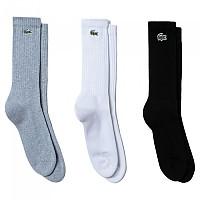 [해외]라코스테 Sport Ribbed Cotton Blend 7137705922 Grey Chine / White / Black
