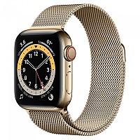 [해외]APPLE Series 6 GPS+Cellular 40 mm Smartwatch Gold