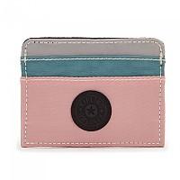 [해외]키플링 Cardy Wallet Pale Pink Mix