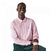 [해외]라코스테 Regular Fit Premium Long Sleeve Shirt Light Pink