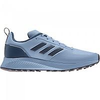 [해외]아디다스 Runfalcon 2.0 Running Shoes 4138103958 Ambient Sky / Crew Navy / Pulse Yellow