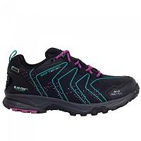 [해외]HI-TEC Roncal Low WP Hiking Shoes 4138315793 Black / Navigate / Festival Fuchsia