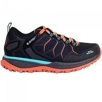 [해외]HI-TEC Ultra Terra Hiking Shoes 4138315805 Black / Orange Rust / Blue Cura?§ao