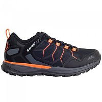 [해외]HI-TEC Ultra Terra Hiking Shoes 4138315806 Black / Red Orange