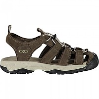[해외]CMP Sahiph Leather Sandals Refurbished 4138336397 Wood