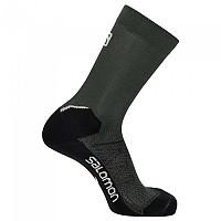 [해외]살로몬 SOCKS Speedcross Trail Run Crew Socks 4138116233 Ponderosa Pine / Lunar Rock