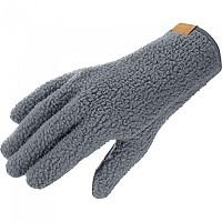 [해외]살로몬 Outlife Fleece Gloves 4138167125 Ebony / Heather