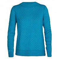 [해외]아이스브레이커 Waypoint Sweater 4138215234 Arctic Teal / Ecru Heather
