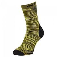 [해외]오들로 Micro Crew 세라믹ool Run Graphic Socks 4138222164 Olivine