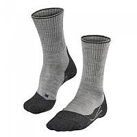 [해외]FALKE TK2 Wool Silk Socks 4137285319 Light Grey