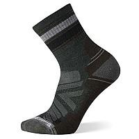 [해외]스마트울 Performance Hike Light Cushion Striped Mid Crew Socks 4138212022 Dark Sage