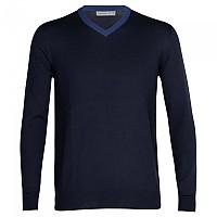[해외]아이스브레이커 Shearer V-Neck Sweater 4138215090 Midnight Navy / Royal Navy / CB