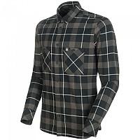 [해외]마무트 Alvra Long Sleeve Shirt 4138333503 Black / Titanium