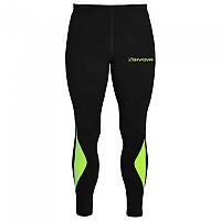 [해외]GIVOVA Running Leggings 3138326620 Black / Yellow Fluo