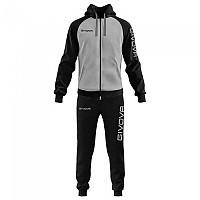 [해외]GIVOVA Super King Track Suit 3138330868 Light Melange Grey / Black