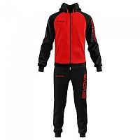 [해외]GIVOVA Super King Track Suit 3138330872 Red / Black