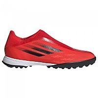 [해외]아디다스 X Speedflow.3 LL TF Football Boots 3138103528 Red / Core Black / Solar Red 1