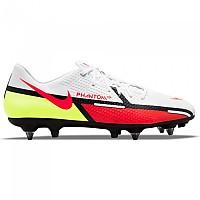 [해외]나이키 Phantom GT2 Academy SG Football Boots 3138253622 White / Bright Crimson-Volt-Black