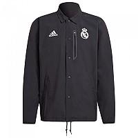 [해외]아디다스 Real Madrid 21/22 Jacket 3138114899 Carbon / Chalk White