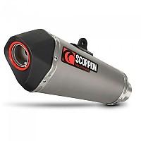 [해외]SCORPION Serket Taper Slip On Titanium GSX-R 600/750 11-19 9137579093 Natural
