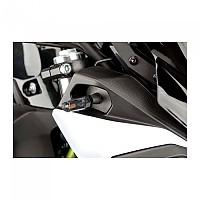 [해외]PUIG Stick Front Turn Signals Honda NT650V Deauville 01 9138287120 Black