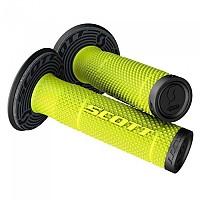 [해외]스캇 SX II+Donut Grips 9138298709 Black / Neon Yellow