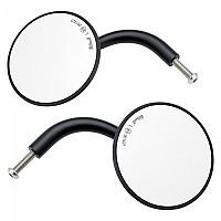 [해외]빌트웰 Round Clamp Rearview Mirror 2 Units 9138320921 Black