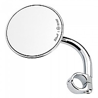 [해외]빌트웰 Round Thread Rearview Mirror 9138320928 Chrome