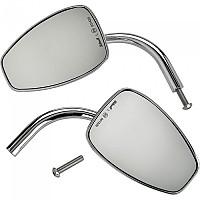 [해외]빌트웰 Tear Drop Rearview Mirror 2 Units 9138320951 Chrome