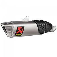 [해외]아크라포빅 머플러 Slip On Line Titanium CBR 1000 RR 17 Homologated Ref:S-H10SO17-HAPXLT/1 Muffler 9138323748 Silver / Black