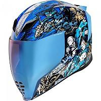 [해외]ICON Airflite 4Horsemen Full Face Helmet 9138335780 Blue