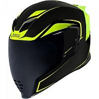 [해외]ICON Airflite Crosslink Full Face Helmet 9138335784 Hi Viz