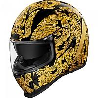 [해외]ICON Airform Esthetique Full Face Helmet 9138335821 Gold