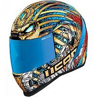 [해외]ICON Airform Pharaoh Full Face Helmet 9138335837 Gold